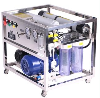 Seawater desalinator 500 lpd